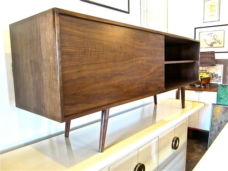Mid Century Modern Walnut Sideboard. Modern Furniture HoustonMid ...