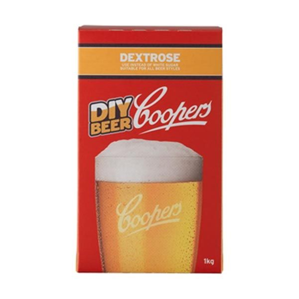 Coopers Dextrose Coopers Dextrose contains not less than 99.5% glucose which is a simple sugar that ferments out completely. Coopers Dextrose avoids the sharp cidery characters that can be produced by white sugar. A favorite with experienced brewers suitable for all beer styles