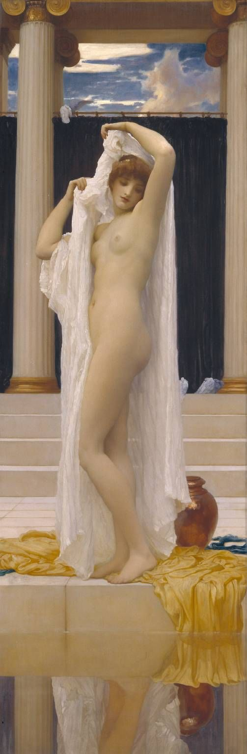 The Bath of Psyche by Frederic, Lord Leighton. Tate.