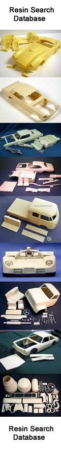 Resin Model Car & Truck Database.