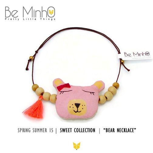 Be Minho - Bear Necklace http://beminho.blogspot.pt/