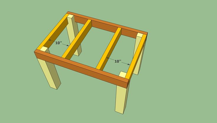 how to make a tile top table | Patio table plans | HowToSpecialist - How to Build, Step by Step DIY ...