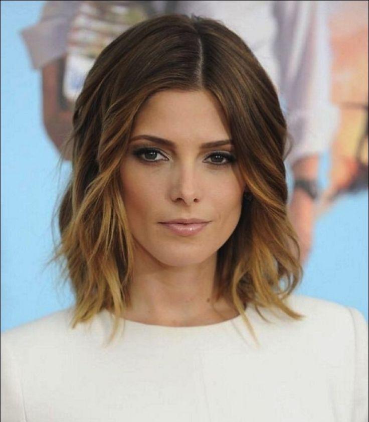 Lob Haarschnitt und aufgehellte Spitzen Mehr
