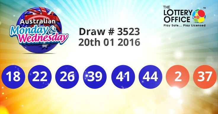 Australian Monday & Wednesday Lotto winning numbers results are in. Next Jackpot: $1 million #lotto #lottery #loteria #LotteryResults #LotteryOffice