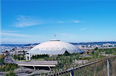 Tacoma Dome: 253-572-3663  The Tacoma Dome hosts over one million guests annually. The Tacoma Dome Arena and its attached Exhibition Hall host over 300 days of events every year including WIAA high school sports, major concerts, family shows, and several tradeshows.