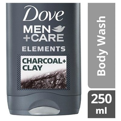 Dove Men Care Charcoal Clay Body and Face Wash - 18oz