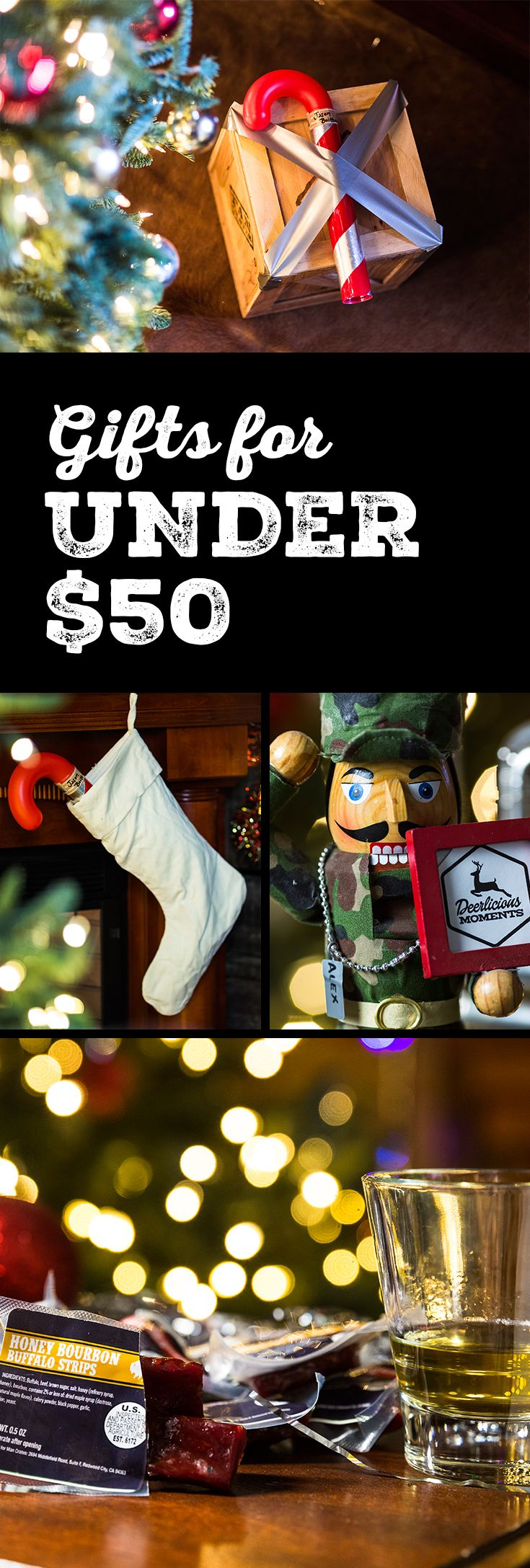 The most awesome gifts for men in the world start at less than the price of an oil change. Check out Man Crates awesome gifts under $50.