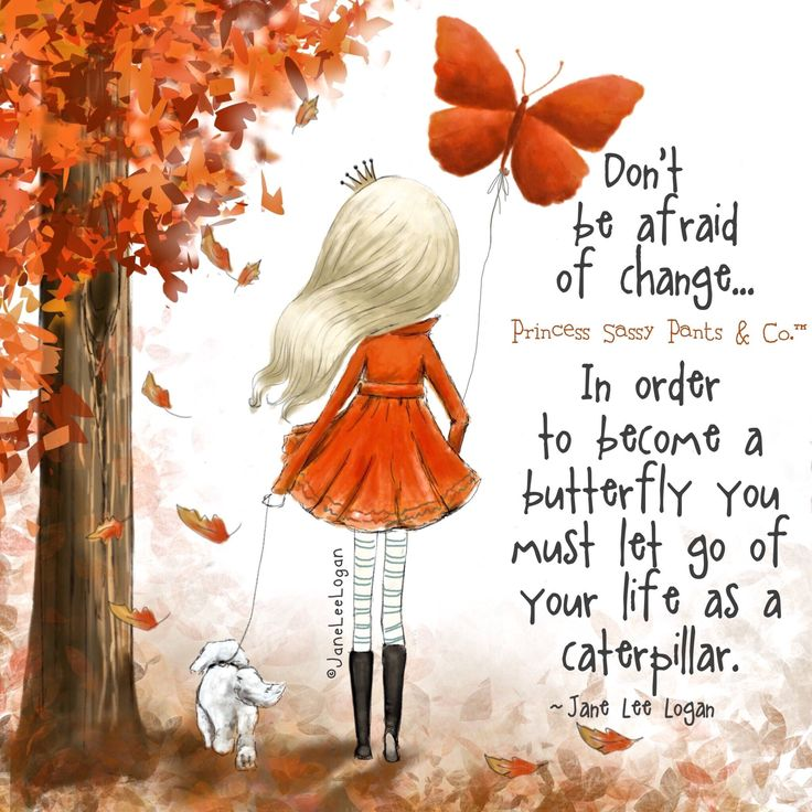 Become a butterfly