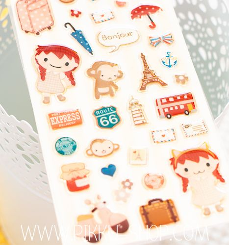 Tarts & Tea Stickers from Pikku Shop | www.pikku-shop.com | #stickers #cute #kawaii