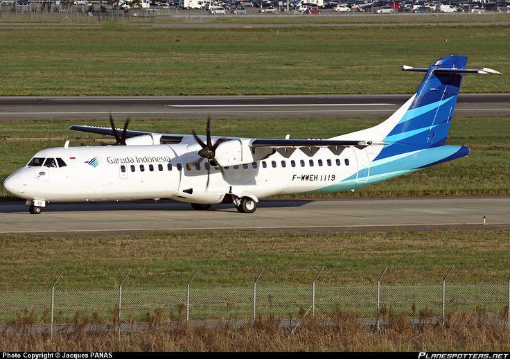 F-WWEH Garuda Indonesia ATR 72-600 (72-212A)