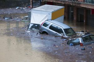 European flood risk could double by 2050