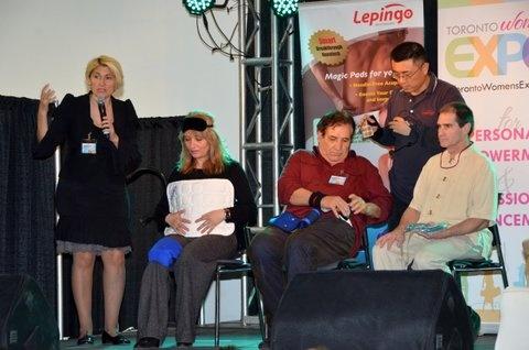 Lepingo on stage