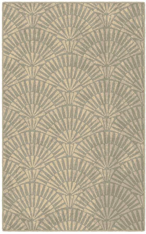 Brumlow Molinos De Art Deco Geométricas Impresas Alfombra ...