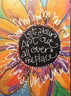 Joanne Sharpe Letter Love 101-18: Lesson 12: BLACK LIGHT LETTERS