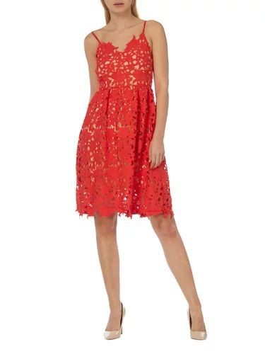 Kleid rot vero moda