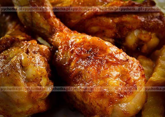 Nóżki kurczaka w pikantnej glazurze
