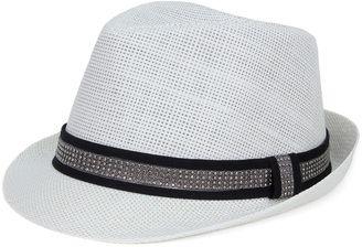 White Fedora #hat #womens