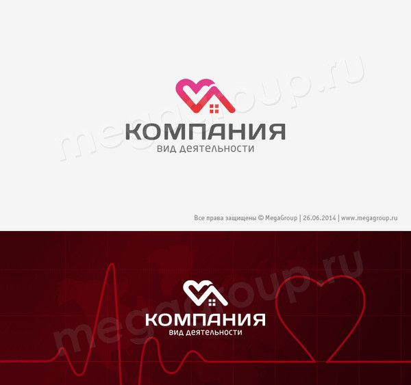 Логотип № 39936, каталог компании Megagroup - на тему Детские больницы и поликлиники Медицинские услуги, центры, больницы Универсальный дизайн