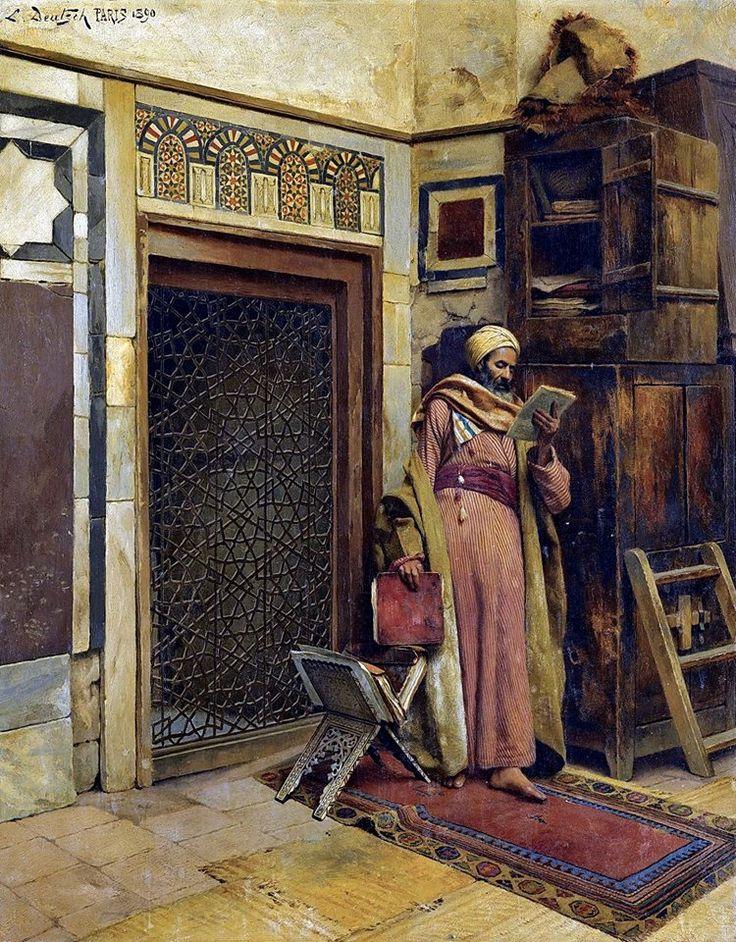 The Scholar 1890 By Ludwig Deutsch Austrian