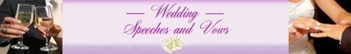 Bride and Groom Speech Tips