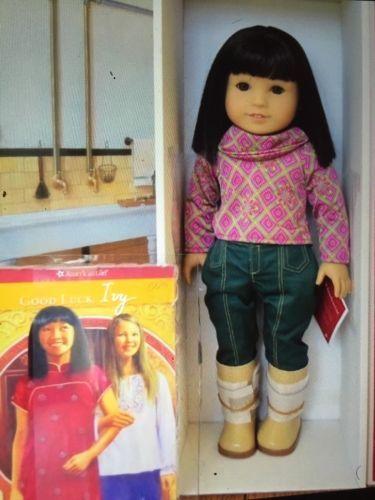 American-girl-doll-ivy-ling-nib-Julies-meilleur-ami-retraite-beau-cadeau
