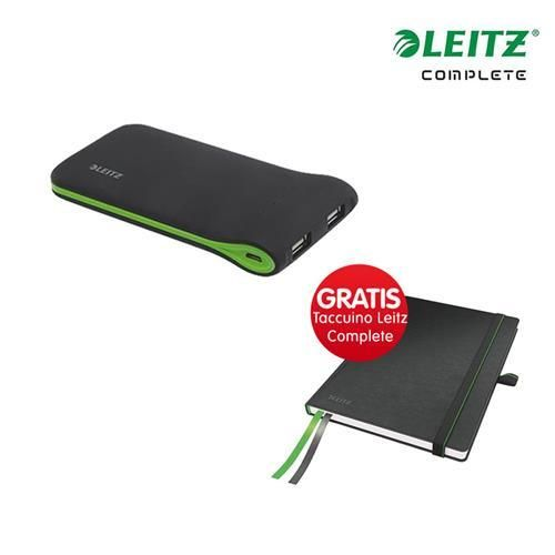 #Kit caricatore portatile usb  taccuino leitz  ad Euro 38.69 in #Euroffice #Home tecnologia accessori tablet