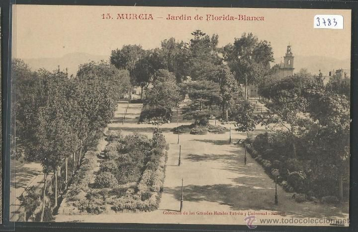 MURCIA - JARDIN DE FLORIDA BLANCA - P3783 (Postales - España - Murcia Antigua (hasta 1.939))