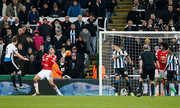 Manchester United 3-3 Newcastle #barclays #premier #league #soccer #result #football #score #match #day