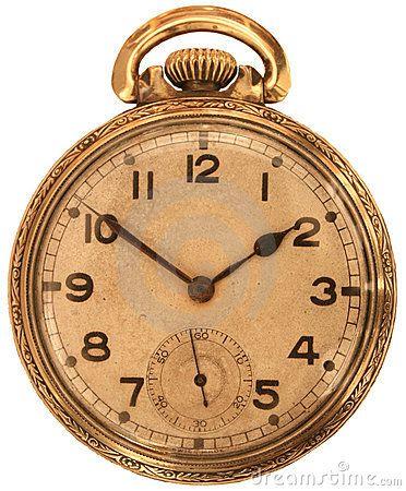 Antique Pocket Watch by Ken Pilon, via Dreamstime