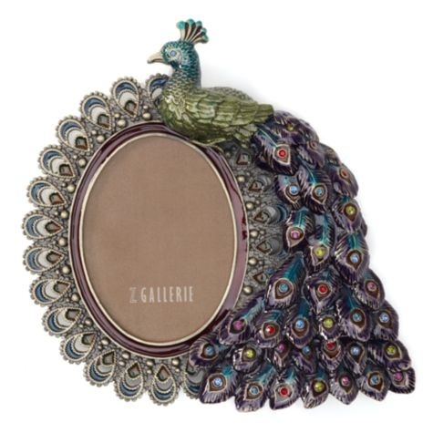 Peacock Jeweled Jewel Picture Frames Pinterest