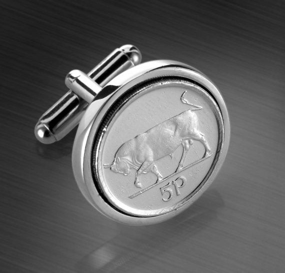 Coin Cufflinks Handmade coins from by worldcoincufflinks on Etsy, $69.00