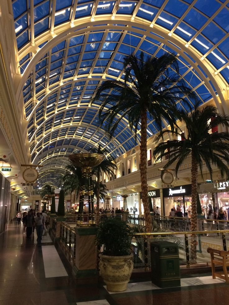 Trafford Centre, Manchester - a shopping mall for day trip. Don't go when it's nearly Christmas !
