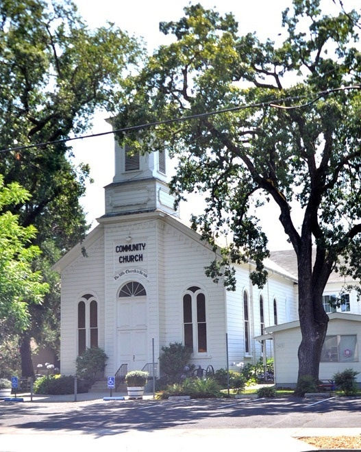 Yountville Community Church, great spot to have a idyllic ceremony! Located 5 minutes from Cliff Lede Vineyards