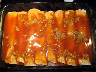 The Virtuous Wife: Beef Enchilada Tutorial (FREEZER MEAL)
