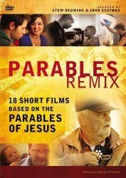 Parables Remix: A DVD Study: 18 Short Films Based on the Parables of Jesus by Zondervan  http://www.igetmovies.com/faith-spirituality/parables-remix-a-dvd-study-18-short-films-based-on-the-parables-of-jesus-dvd-com/  The parables Jesus taught were so much more than stories. Experience the teachings of Jesus the way they were meant to—as stories you could relate to, understand, and learn from. Looking at stories like the parables of the mustard seed, the Good Samaritan, and the two debtors...