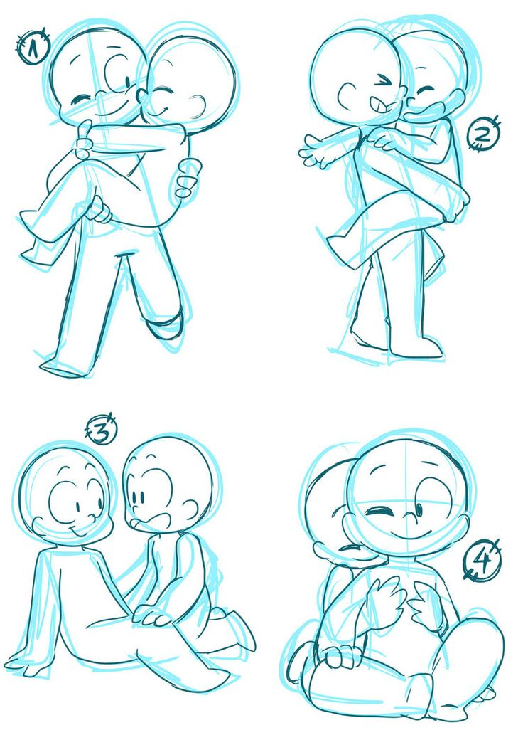 It's just a graphic of Witty Cute Couple Poses Drawing