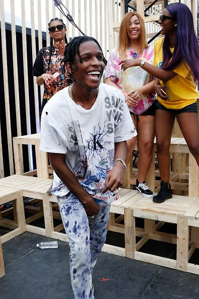 Recording artist ASAP Rocky is seen backstage at the 2016 MTV Woodies/10 For 16 on March 16 2016 in Austin Texas