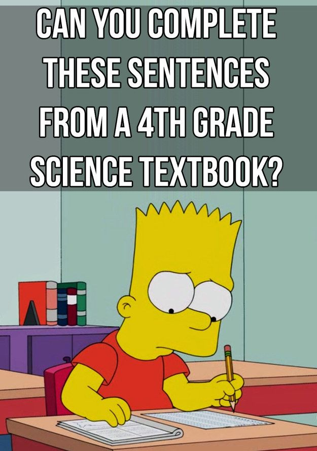4th grade science test questions