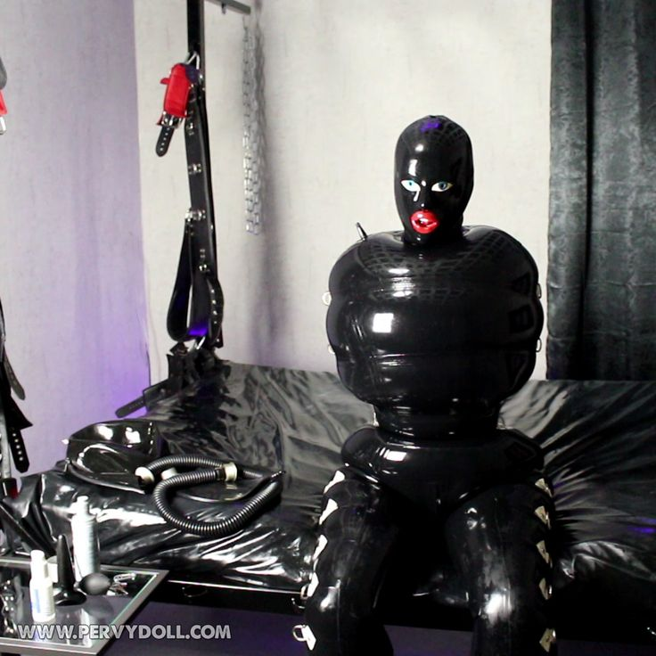 The early beginning of my rubber imprisonment which ended up with me being 2…