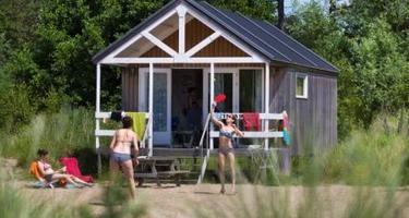Strandhuisje van Kennemerduincamping Bakkum en Geversduin