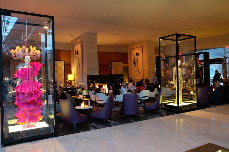 Shangri-La Toronto lobby:  http://thehermitisout.com/2016/12/09/toronto-shangri-la-hotel/