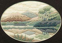 Sew Inspiring : Countryside Long Stitch (needlepoint) Kits