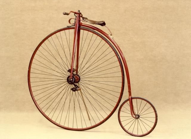 Penny Farthing Bicicle (1880s)