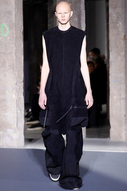 Rick Owens Autumn/Winter 2016-17 Menswear