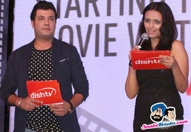 Roshni Chopra at the Launch of Dishflix -- Roshni Chopra and Varun Sharma Picture # 314719