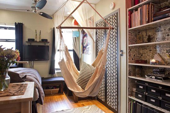Love This Indoor Hammock Swing From Re Nest Com For The