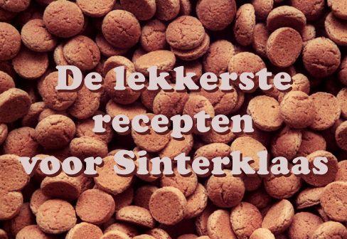 Sinterklaas recepten   overeten.com