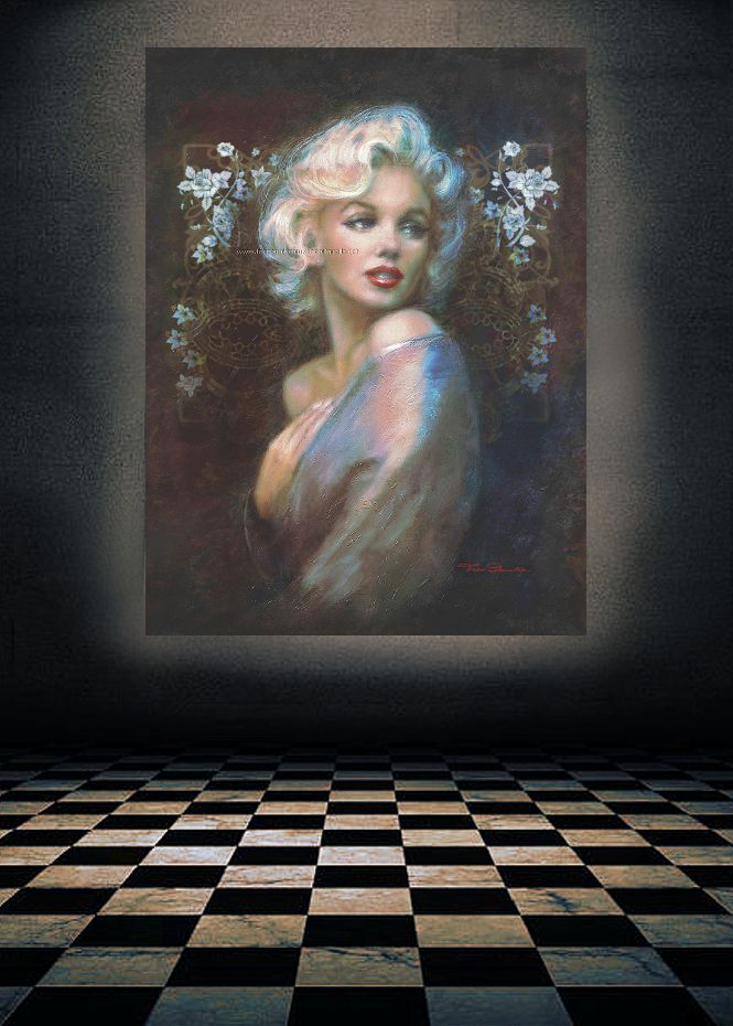 1663 best images about marilyn monroe art paintings by. Black Bedroom Furniture Sets. Home Design Ideas