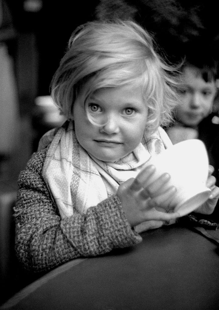 Refugee, Paris, 1938 - by Fred Stein (1909 – 1967), German