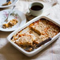 Delicious fresh apricot bars recipe made with fresh apricots. This dessert recipe is wonderful and a great use of your leftover fresh apricots.